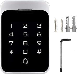 FID Access Control, Luminous Keyboard Waterproof Metal Door RFID Reader, Villas for Home Security System