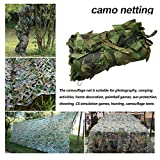 Jungle Camouflage Nets Camping 9 * Camo Netting 9M (29,5 * 29.5ft) Chasse Pêche Abri...