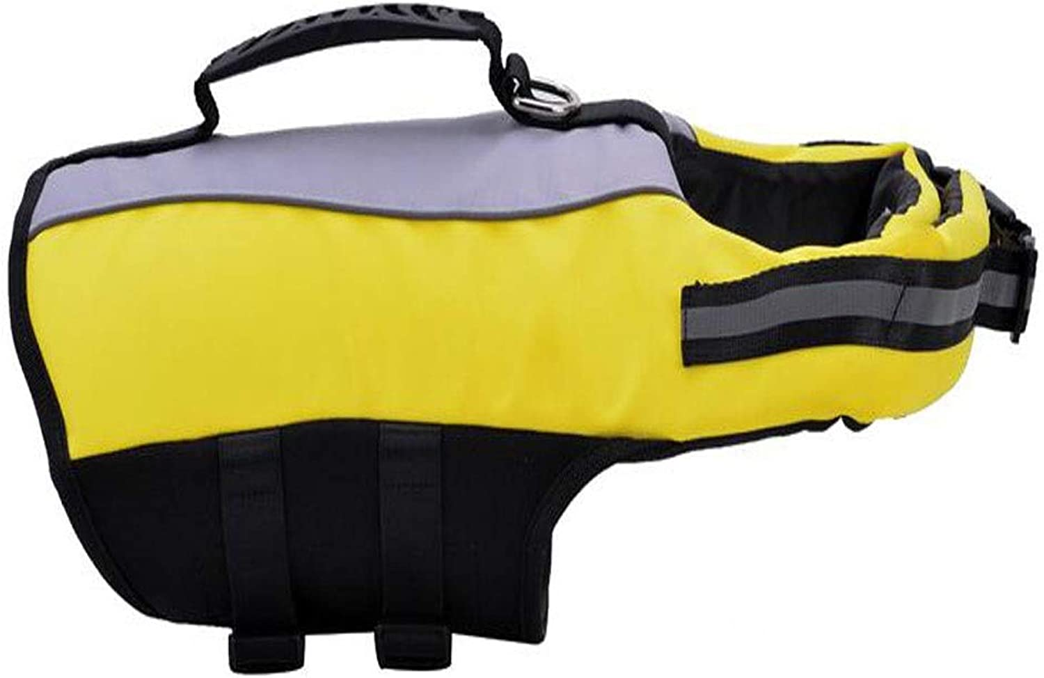 Life Jackets, Portable Dog Swim Vest, Oxford Cloth, Such As Multicolor Options Multicolord (Size   L, M, S) (color   Yellow, Size   M)