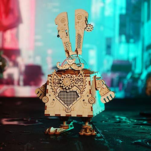 Robotime『オルフェウスAM601RobotimeDIYスチームパンクオルゴール』