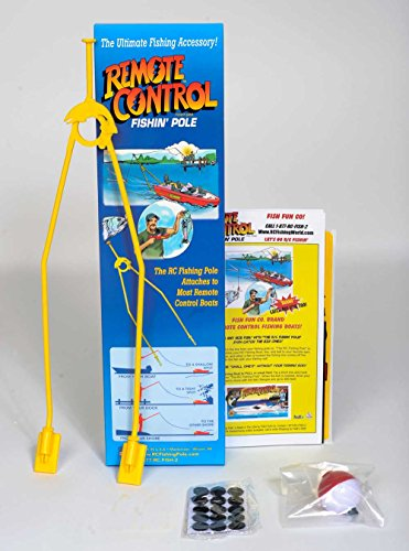 The R/C Fishing Pole- Catch's Fish with Any r/c Boat!