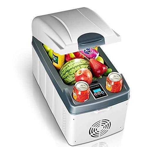 FZYE Compresor portátil Auto Companion Refrigerador de 12 V / 24 V CC, refrigerador de Coche de 20 l Que se Puede Utilizar para Enfriar y Calentar, Apto para hogares al Aire Libre (blan