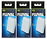 Fluval A486 Cartucho de espuma para filtro de acuario Fluval U2, 2 x 3 pack