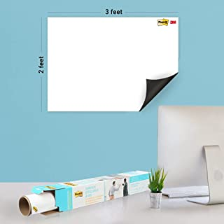 Post-it Dry Erase Whiteboard Film Surface for Walls, Doors, Tables, Chalkboards, Whiteboards, and More, Removable, Super S...