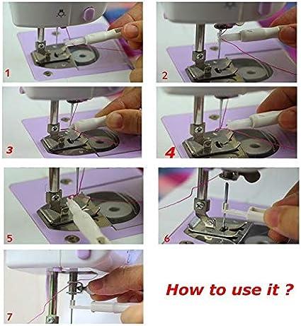 JINAN Appareil de filetage automatique /à coudre /à la main pour les personnes /âg/ées au foyer Outil de couture /à la maison couleur : 02