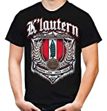 Für Immer Kaiserslautern Männer und Herren T-Shirt | Sport Fussball Stadt Fan (XL, Schwarz Druck: Bunt)