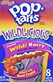 Pop Tarts Wildlicious Frosted Wild! Berry (3 pack) by Pop-Tarts