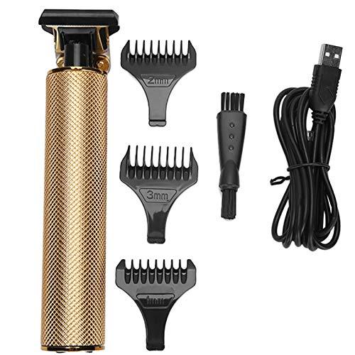 Cortadora de pelo eléctrico, cortadora de barba inalámbrica, máquina de corte de pelo, para peluquería y corte de pelo en casa y hombres