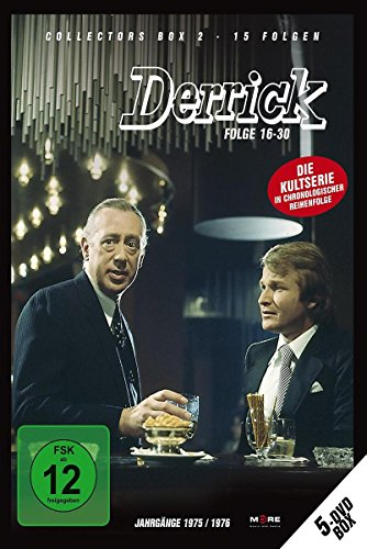 Derrick - Collector's Box Vol. 02 (Folge 16-30) [5 DVDs]