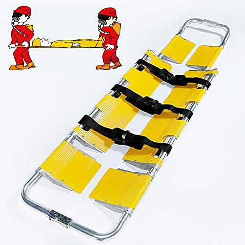 Camilla de Rescate, Transporte de Pacientes portátil Plegable Camilla Cuchara de Emergencia, for la Transferencia del Hospital Inicio Salvaje Mar Primeros Auxilios