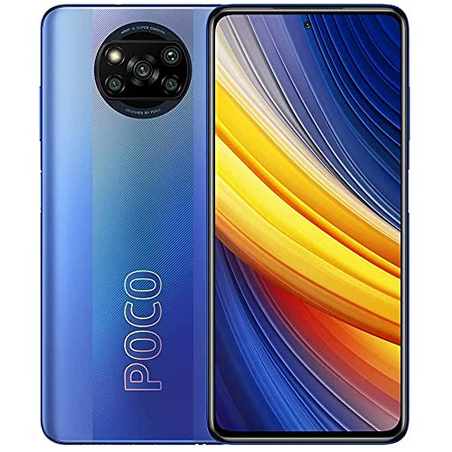 Poco X3 Pro   128GB 6GB RAM   Factory Unlocked (GSM ONLY   Not Compatible with Verizon/Sprint/Boost)   International Version (Frost Blue)