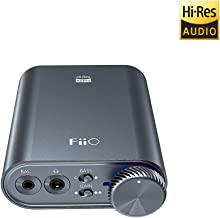 FiiO K3 DSD256 | 384K/32Bit USB-C DAC and Headphone Amplifier for Home and Computer(3.5mm Single Ended/2.5mm Balanced/Coax...