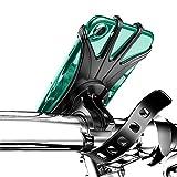 Dylan-EU Supporto Telefono per Bici Porta Cellulare Bici Staccabile & Universale ruotabile a 360 ° per Tutti Gli Smartphone 4.0-6.5 Pollici per Manubrio Moto/Bicicletta