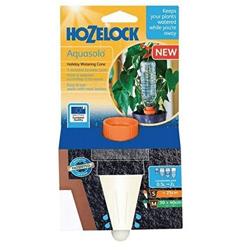 Hozelock Petite Cônes arrosage en céramique avec Plastique Adaptateur à vis – Orange