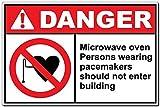 Edwiin Jackson - Señal de Aluminio con Texto en inglés Danger Aluminium para...