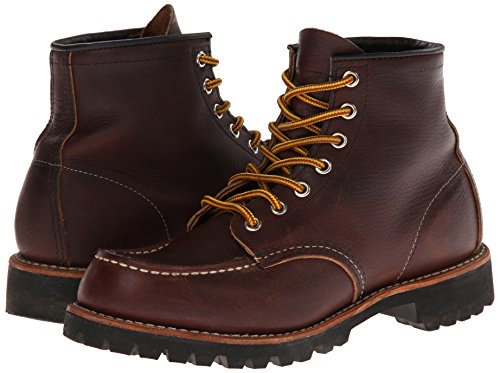 Red Wing Heritage Men's Six-Inch Moc Toe Lug Boot,Brown,7.5 D US