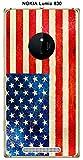 ONOZO Nokia Lumia 830Case With Vintage Usa Flag Design