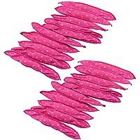 Locisne 20pcs Rodillos de pelo flexibles de la espuma,ningunos rodillos de pelo del calor Pillow mágico Rodillos suaves Cuidado DIY que labra las herramientas para dormir encendido(rizador de pelo)