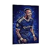GSDGH Soccer Star Memphis Depay Sportposter, Leinwandkunst,