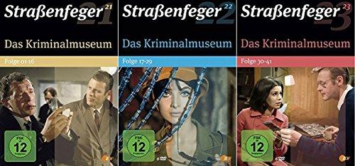 Straßenfeger 21+22+23 Das Kriminalmuseum 1+2+3 / Folge 1-41 [DVD Set]