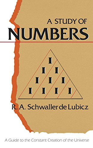 Study of Numbers: A Guide to the Constant Creation of the Universe