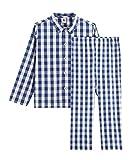 Petit Bateau 5295601 Pijama, Multicolor (Medieval/Marshmallow Bh6), 2 años para Niños