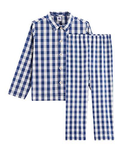 Petit Bateau 5295601 Pijama, Multicolor (Medieval/Marshmallow Bh6), 12 años para Niños