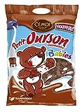 Cémoi Sachet l'Authentique Petit Ourson Guimauve au Chocolat au Lait Babies 100 g - Lot de 7