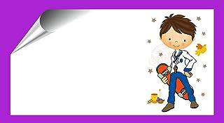 Kit 96 Etiquetas Mi Primera COMUNIÓN - Pegatinas Adhesivas Personalizables Niño Skater Comunion para Regalo, Invitacion, Fiesta, Candy Bar, Obsequios, Botes Chuches, Dulces, Tarros
