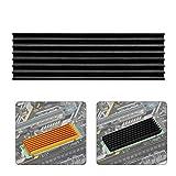Bewinner Dissipatore di Calore SSD in Lega di Alluminio applicabile a PCIE M.2 SSD 2280 Di...
