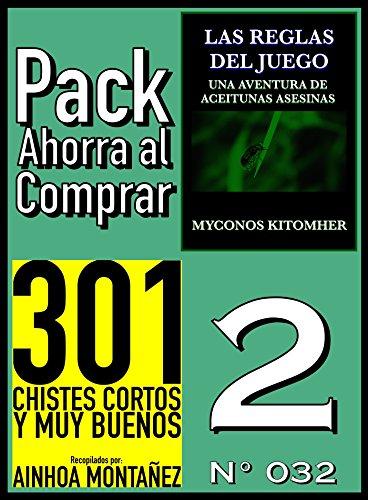 Pack Ahorra al Comprar 2 (Nº 032): 301 Chistes cortos y muy buenos & Las reglas del juego