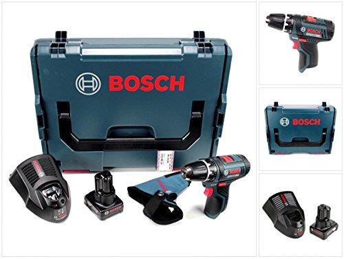 Bosch GSR 12V-15 - Taladro atornillador profesional (12 V, 30 Nm, 1...