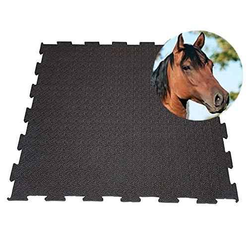 IVOL Stallmatten - Puzzle - 100 x 100 cm - Funktionale Matte für die Pferdebox