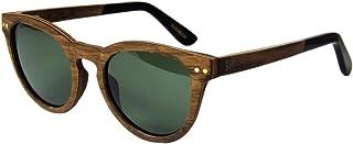 WOLA - redonda gafas de sol en madera FORREST mujer y hombre madera, sunglasses UV400 - polarisado