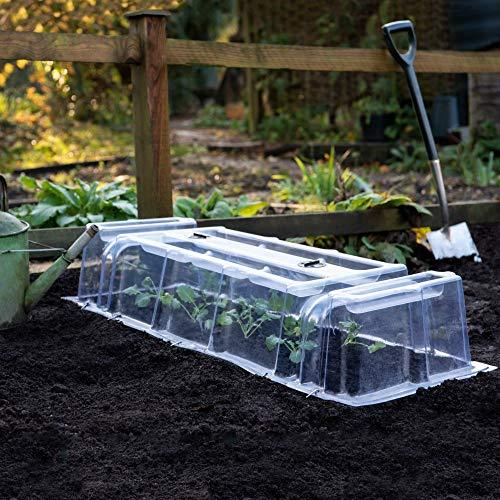 Thompson & Morgan Outdoor Garden Cloche Mini Greenhouse Growing Tunnel