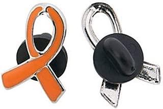 1 Orange Awareness Enamel Pin, SUPPORT KIDNEY, LEUKEMIA, MULTIPLE SCLEROSIS