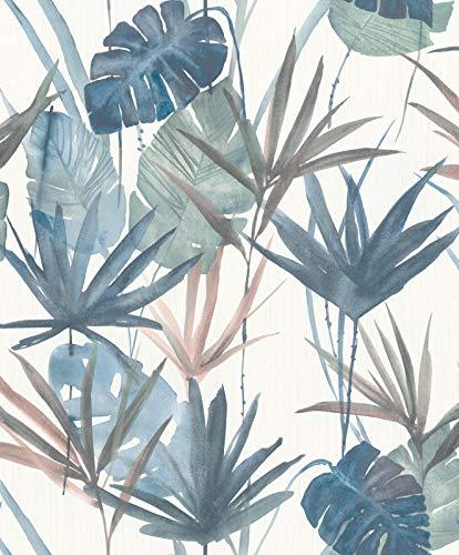 Rasch Tapeten (Botanical) Grün 10,05 m x 0,53 m BARBARA Home Collection II 536423 Vliestapete
