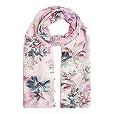 Guess Pashmina donna con trama floreale di colore rosa. AW8431VIS03. BIOSABORSE
