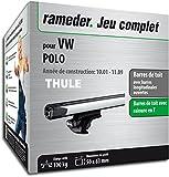 Rameder Pack Barres de Toit SlideBar pour VW Polo (114977-04804-6-FR)