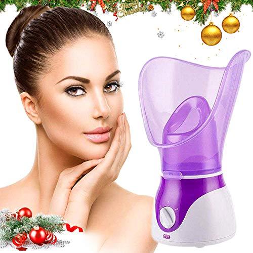 Gesichtsdampfer, Professional Spa Home Gesichtsdampfer Sauna Pores Cleanse-BPA-frei Warm Mist Feuchtigkeitsspendender Gesichtsdampfer
