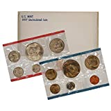 1977-10-Coin Uncirculated P&D US Mint Set in OGP BU