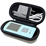 Hard Case for The EMAY Portable EKG Monitor | Wireless EKG Monitoring Device with iOS & Android App | Personal ECG Rhythm & Heart Rate Monitor for Home Use