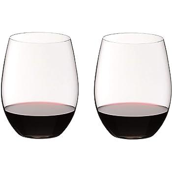 Riedel O Wine Tumbler Cabernet/Merlot, Set of 2 - 0414/0,Clear