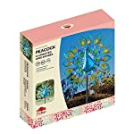 garden mile® Magnificent Peacock Solar Power Garden Wind Spinner | Colourful Exotic Bird Outdoor Garden Lawn and Patio… 3