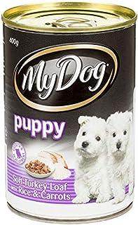 MY DOG Puppy Soft Turkey LOAF Rice & Carrots 24X400G (251068) (DMD400PSTLRCX24)