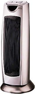 EDM Calefactor Torre ceramico Modelo Silver 1000/2000W oscilante, Gris, 0