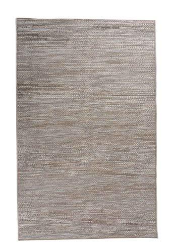Möbel Jack In- und Outdoorteppich Außenteppich Balkonteppich | 200x290 cm | Beige | Wischmuster