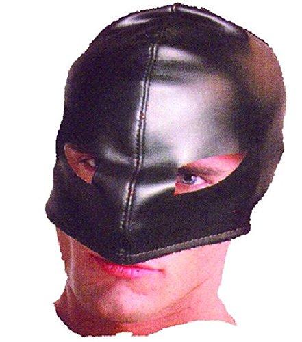 Mondial-Fete - Masque Cagoule Vinyl Noir