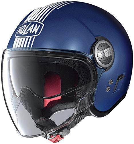NOLAN N21 VISOR JOIE DE VI FLAT IMPERATOR BLUE L