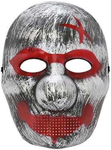 Komonee Größe Nase Silber Halloween Maske (50 Stück) (HM10)